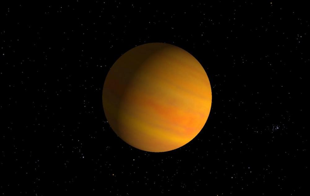 Rappresentazione artistica di 51 Pegasi b. Credit: NASA JPL