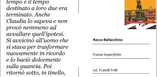 Cartolina da Rocco Ballacchino Frilli editori