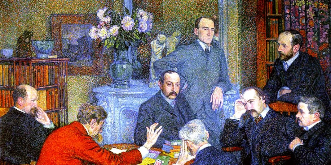 The Reading (1903). Theo van Rysselberghe