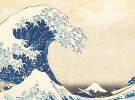 Under the Wave off Kanagawa, di Katsushika Hokusai