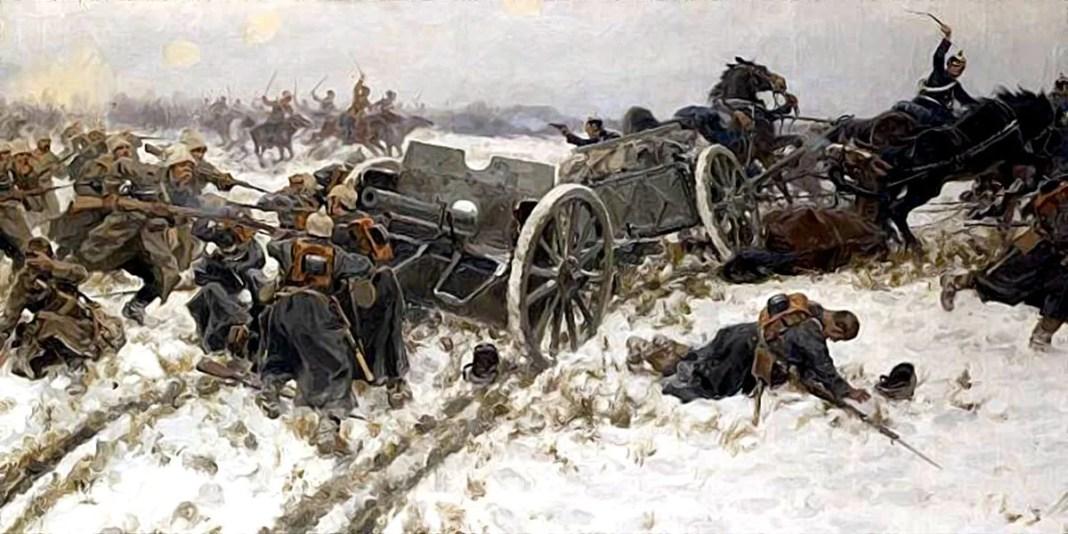 Military clash. Ivan Vladimirov