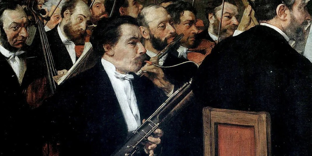 Edgar Degas – The Orchestra at the Opera