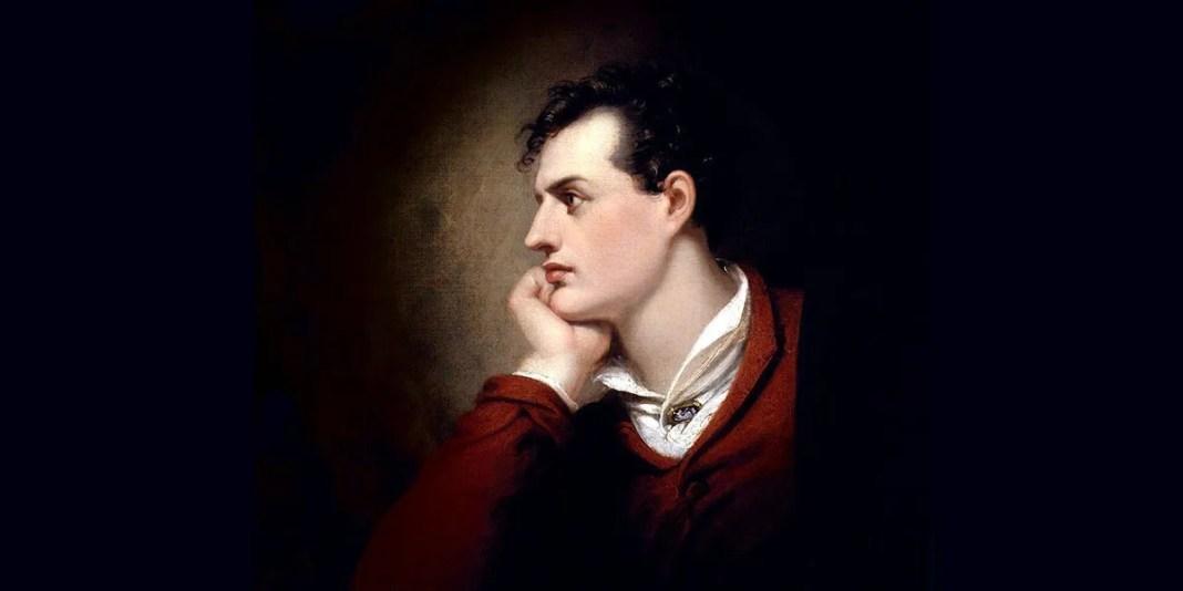 George Gordon Byron by Richard Westall