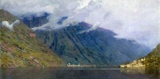 """Lake Como"" di Isaac Levitan"