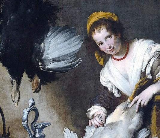 La cuoca. Bernardo Strozzi (1581–1644)