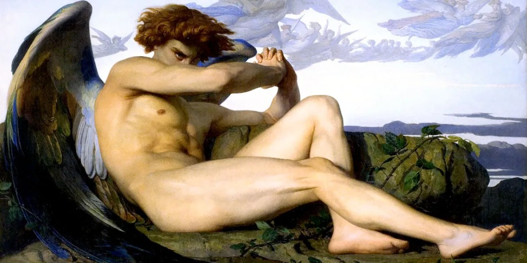 Fallen Angel (1847). Alexandre Cabanel