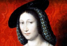 Jean Clouet (Attributed). Portrait of Marguerite of Navarre