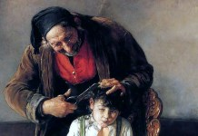 Nikolaos Gyzis. The Barber