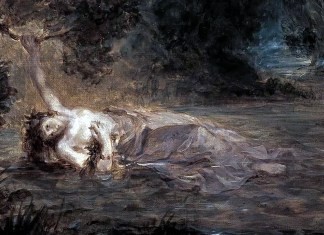 Eugène Delacroix – The Death of Ophelia
