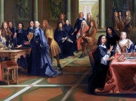 Queen Christina of Sweden and her Court. Pierre-Louis Dumesnil