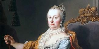 Martin van Meytens, L'Imperatrice Maria Teresa d'Austria, olio su tela, 1759, Accademia di belle arti di Vienna