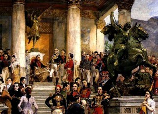 El panteon de los heroes. Arturo Michelena