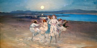 Children Dancing on the Strand. George William Russell