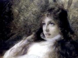 Alfredo Ricci. Illustrazione per L'Isaotta Guttadauro di Gabriele D'Annunzio