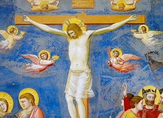 """""""Crocifissione"""" di Giotto, Capella Scrovegni, Padova"""