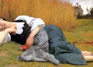 Rest at Harvest. William-Adolphe Bouguereau