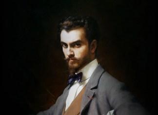 """Ritratto di James Hazen Hyde"" di Théobald Chartran"
