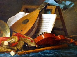 The Attributes of Music. Anne Vallayer-Coster