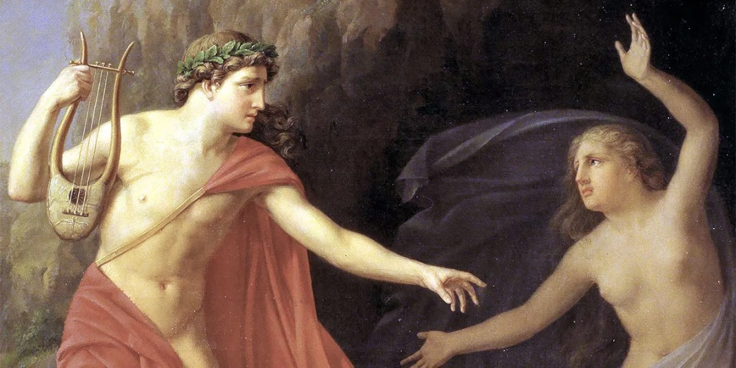 """""""Orpheus and Eurydice"""" di Carl Andreas August Goos"""