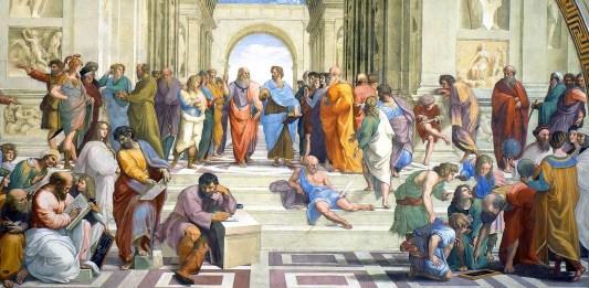 """""""Scuola di Atene"""" di Raffaello Sanzio"""
