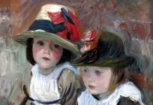 Village Children. John Singer Sargent