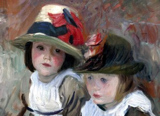 Village Children. John Singer Sargent