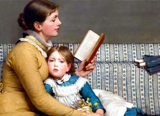 George Dunlop Leslie. Alice in Wonderland