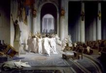 Léon Gérôme – The Death of Caesar