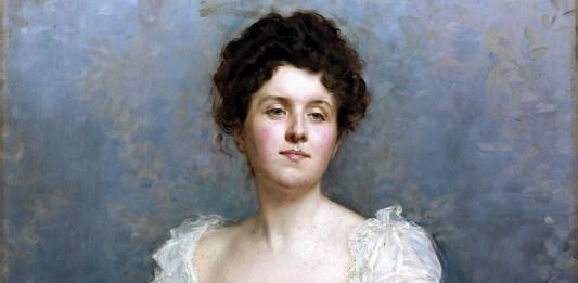 Retrato de señora. Raimundo de Madrazo y Garreta