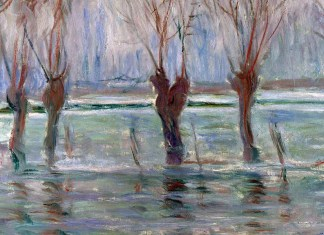 Flood Waters. Claude Monet