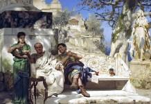 The patrician's siesta. Henryk Siemiradzki