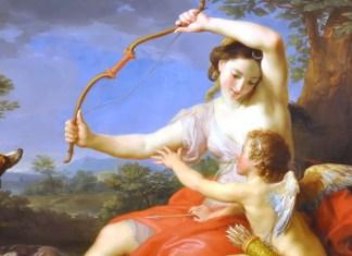 Diana and Cupid, Pompeo Batoni