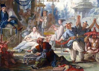 Chinese Dance. François Boucher (1703–1770)