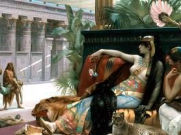 Cleopatra Testing Poisons on Condemned Prisoners. Alexandre Cabanel