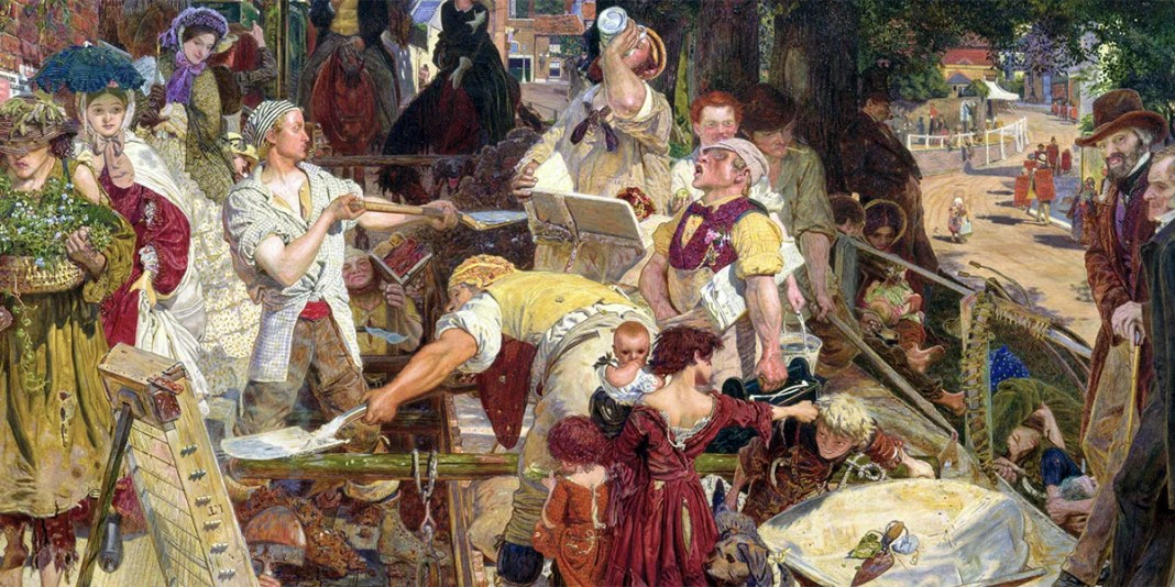Work. Ford Madox Brown