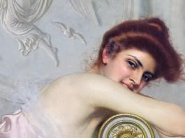 Ritratto di giovane donna, 1895 ca. Vittorio Matteo Corcos