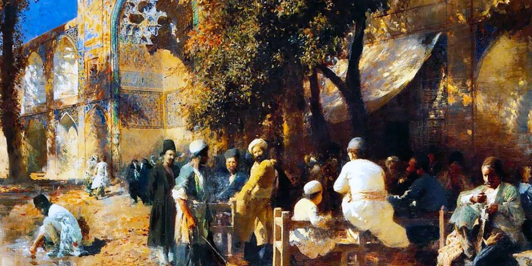 A Persian Cafe, Edwin Lord Weeks