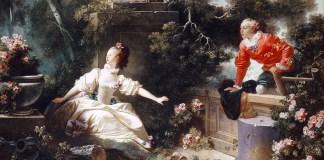 Les Progrès de l'amour: Le rendez-vous. Jean-Honoré Fragonard