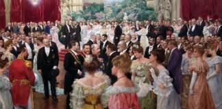 Bal à l'hôtel de ville de Vienne (Autriche) en présence du maire, Karl Lueger. Wilhelm Gause, 1904