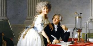 Portrait of Antoine-Laurent Lavoisier and his wife, Jacques-Louis David