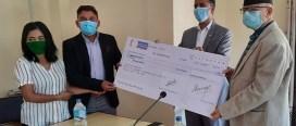 गौतम बुद्ध अन्तर्राष्ट्रिय क्रिकेट रङ्गशालालाई वाग्मती प्रदेश सरकारको ३ करोड सहयोग