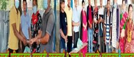 सरस्वती स्कुलमा सावाँ परिवारद्वारा १ लाख १ हजारको अक्षयकोष स्थापना