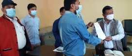 कोरोना संक्रमण नियन्त्रण र जनजिवन रक्षाका लागि नगरलाई माओवादी केन्द्रको ध्यानार्षण पत्र