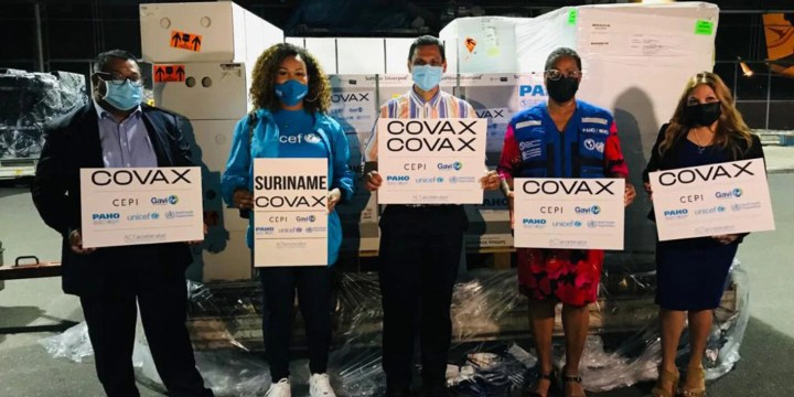 Suriname receives its first COVID-19 vaccines through the COVAX Facility - PAHO/WHO   Pan American Health Organization