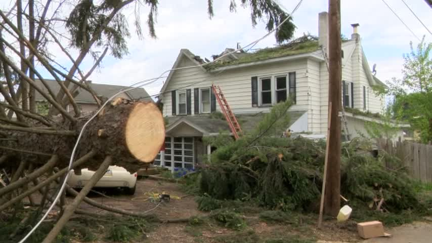 Wilkes-Barre Township Storm Damage 6 pm_92825321