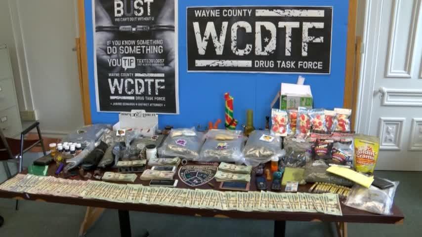 Wayne County Drug Bust 5 pm
