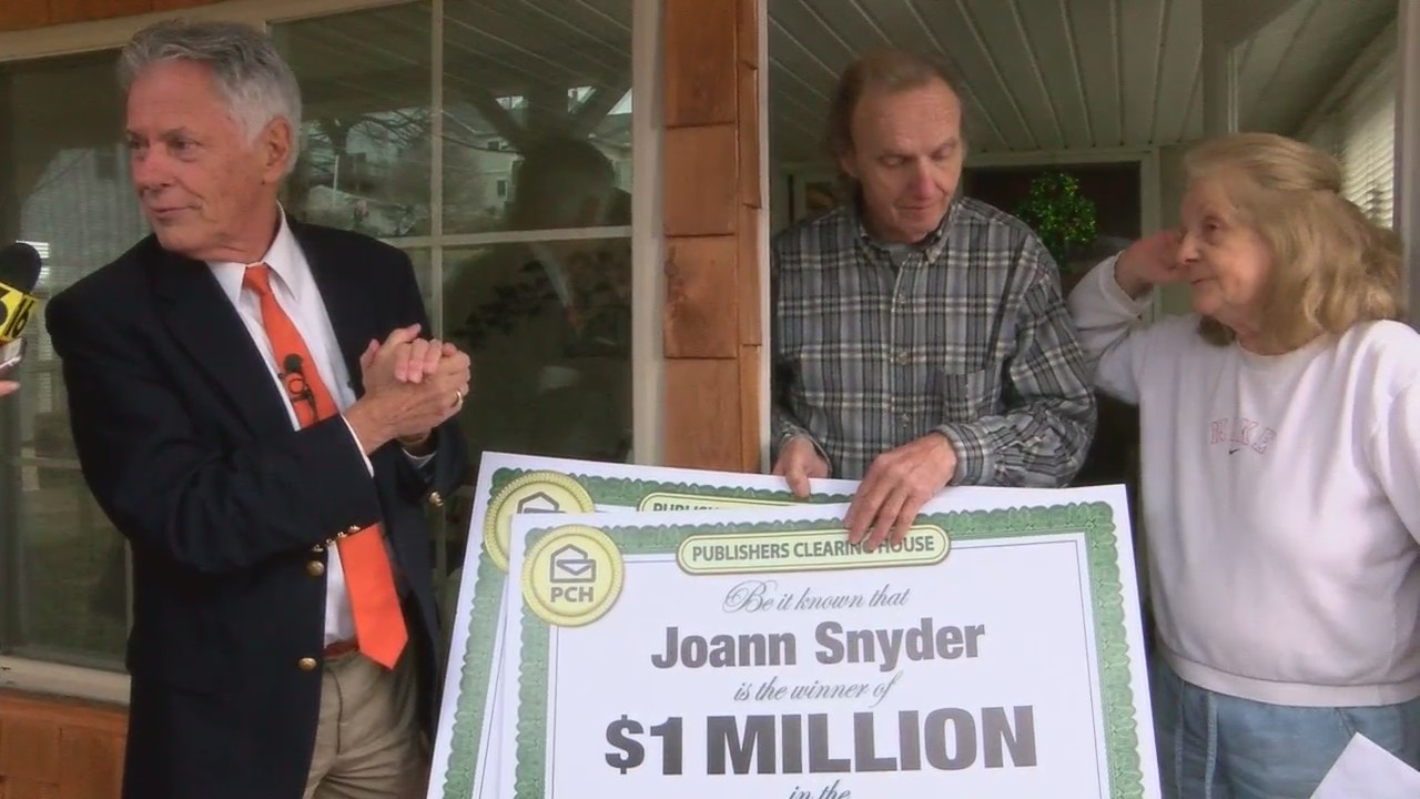 Luzerne County couple wins big Publishers Clearing House Prize
