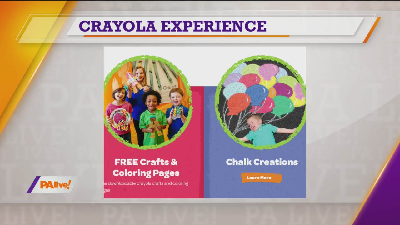 PAlive! Crayola Experience April 9, 2020