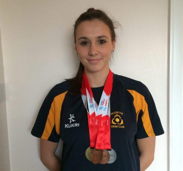 Emma Wins Gold at English Masters
