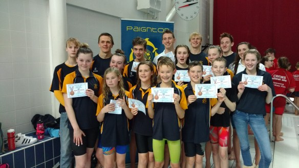 Devon County Interclub Championship Success